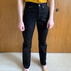 NWOT Calvin Klein Straight High Waist Denim Jeans